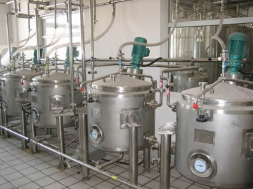 milk powder  concentration drying section