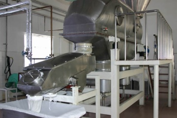milk receiving section